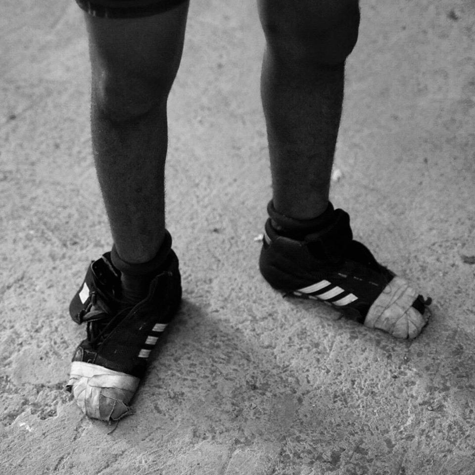 cuban wrestling shoes