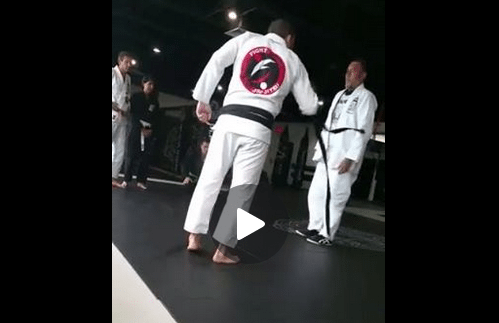 Fake Black Belt Outed And Was Asked To Remove The Belt
