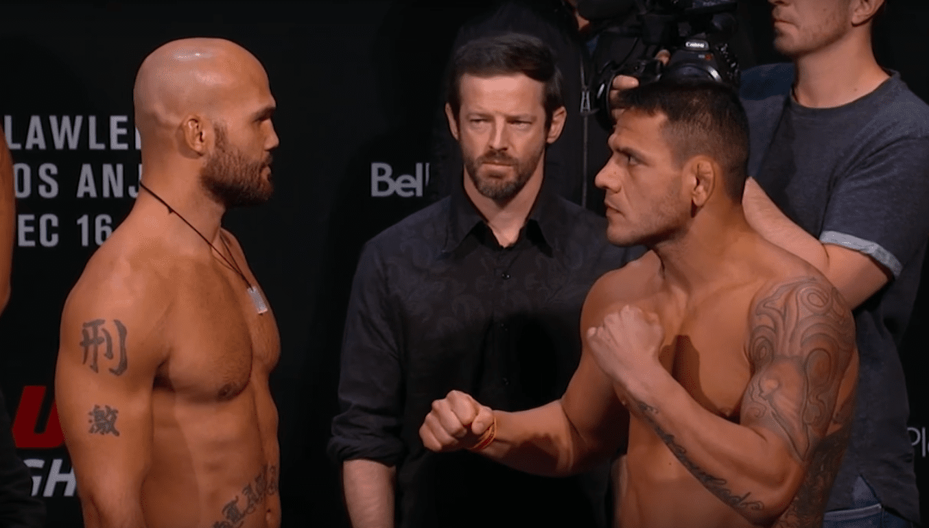 Rafael Dos Anjos Battles Robbie Lawler To A Unanimous Decision Victory