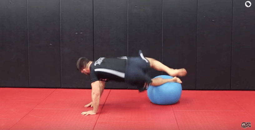 11 Solo BJJ Drills With Stability Ball - Guard Passing And Hips