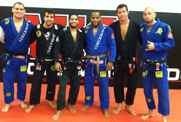 Jiu-Jitsu Belt promotion of MMA Fighters