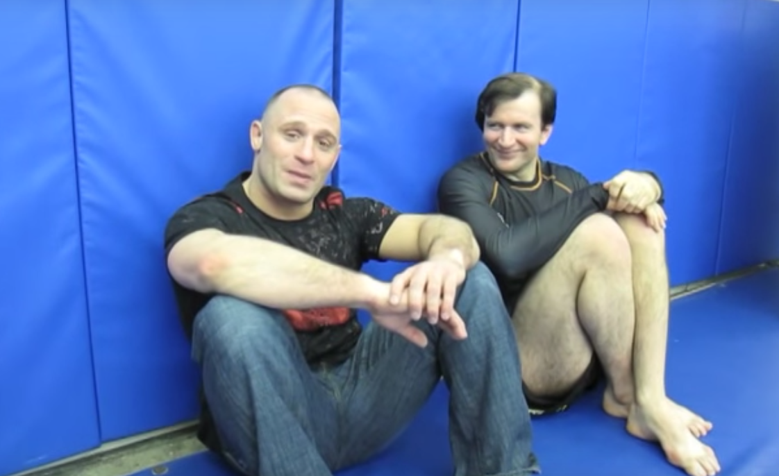 funny video clips of matt serra busting john danahers chops