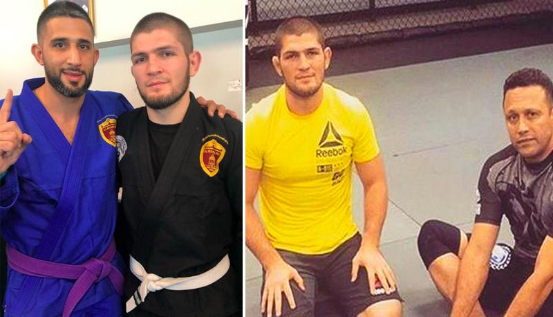 UFC Champion Khabib Nurmagomedov Training In Jiu-Jitsu Gi As