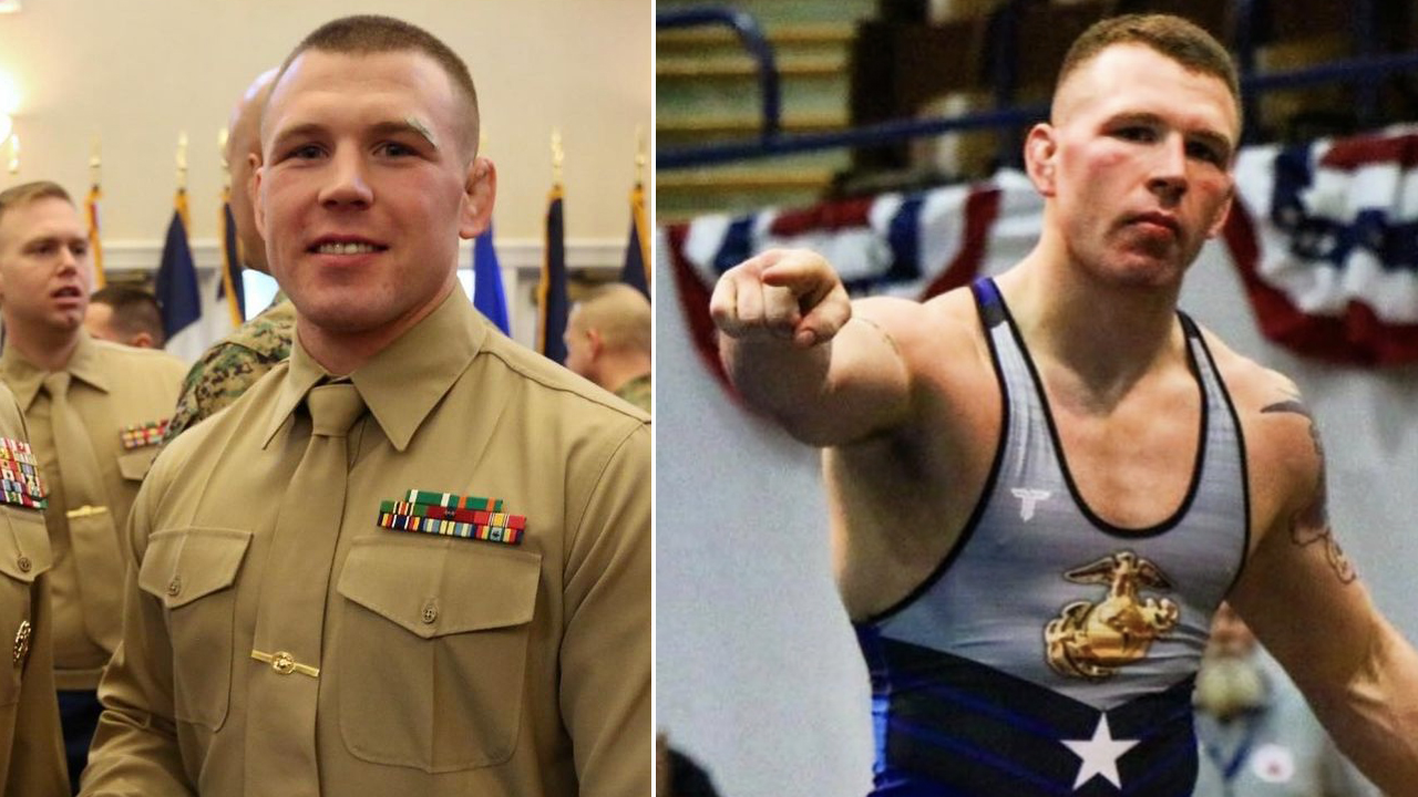 Wrestler & U.S. Marine John Stefanowicz Wins Trials, Will Compete At The  Olympics