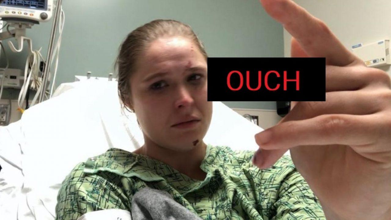 ronda rousey finger injury
