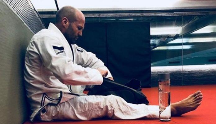 Jason Statham Training Jiu Jitsu For His Role In 2019